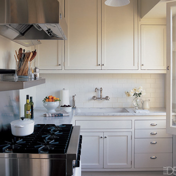 Small Kitchen Ideas, Transitional, kitchen, Elle Decor