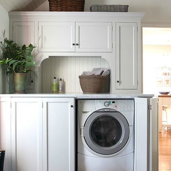 Cabinets Above Washer And Dryer Traditional Laundry