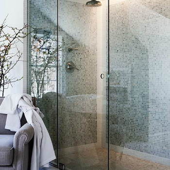 Double Shower Heads, Transitional, bathroom, Sage Design