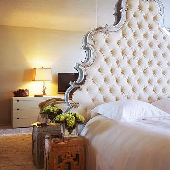 Floot to Ceiling Mirrors, Transitional, bedroom, Jennifer Bradford Davis Interior Design