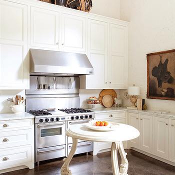 Round Kitchen Island, Cottage, kitchen, Atchison Home