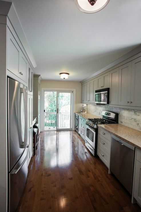 Galley Kitchen Transitional Kitchen Madison Taylor
