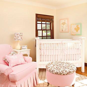 Pink Glider, Traditional, nursery, Annette Tatum