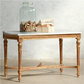 Eloquence One of a Kind Vintage Coffee Table I Layla Grayce