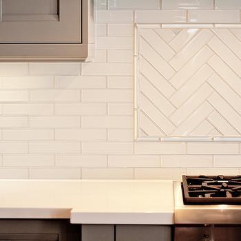 Herringbone Backsplash, Contemporary, kitchen, Benjamin Moore Museum Piece, Madison Taylor Design