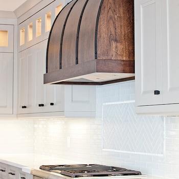 Walnut Kitchen Hood, Contemporary, kitchen, Benjamin Moore Museum Piece, Madison Taylor Design