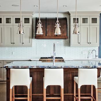 Agate Countertops, Contemporary, kitchen, Benjamin Moore Museum Piece, Madison Taylor Design