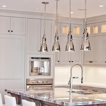 Agate Countertop, Contemporary, kitchen, Benjamin Moore Museum Piece, Madison Taylor Design