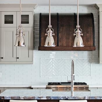 Walnut Range Hood, Contemporary, kitchen, Benjamin Moore Museum Piece, Madison Taylor Design
