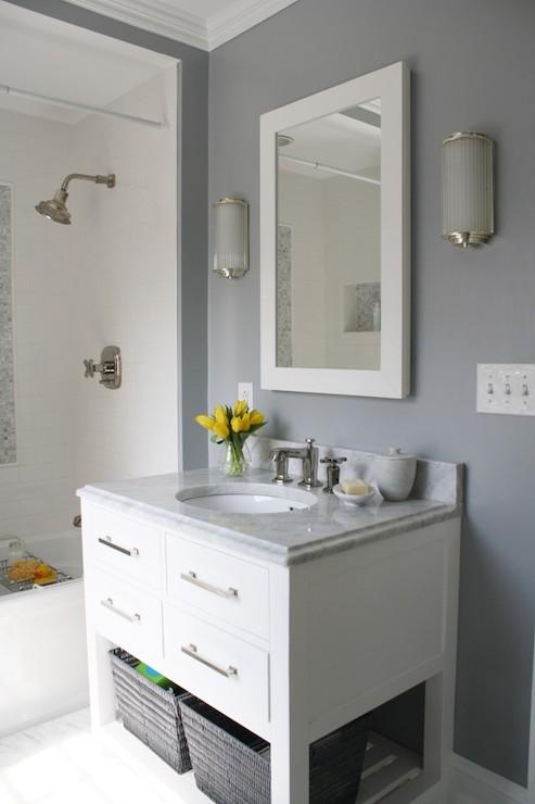 Pottery barn bathroom cabinet