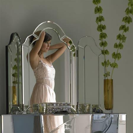 Ivana Triple Dressing Table Mirror I Graham And Green