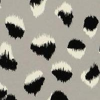 Wallpaper - Feline Wallpaper in Black/Gray I Kelly Wearstler - black and gray animal print wallpaper, black white and gray animal print wallpaper, modern animal print wallpaper,
