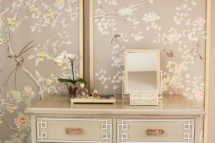 Chinoiserie Panels Asian Closet Laura Tutun Interiors