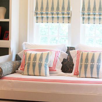 Built In Daybed, Contemporary, girl's room, Laura Tutun Interiors