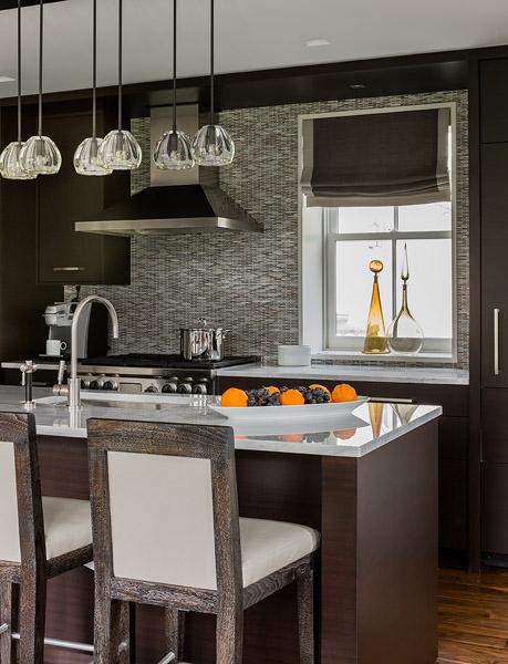 Espresso Cabinets   Contemporary   kitchen   Eric Roseff ...