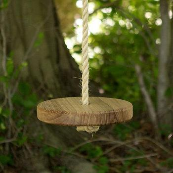 Miscellaneous - Original Tree Swing I Terrain - tree swing, rope tree swing, reclaimed elm tree swing,