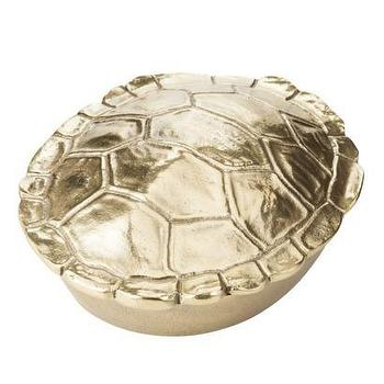 Decor/Accessories - Nate Berkus Decorative Tortoise Shell Box - Gold I Target - gold turtle shaped box, gold tortoise shell box, gold decorative tortoise box, gold decorative turtle box,