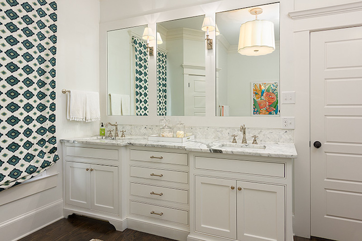 Double Vanity Ideas Transitional Bathroom Colordrunk