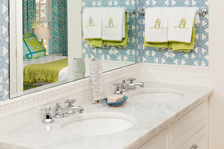 Jack And Jill Bathroom Contemporary Bathroom Colordrunk Design