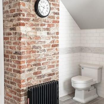 breathtaking brick wall tiles bathroom | Exposed Brick Wall - Design, decor, photos, pictures ...