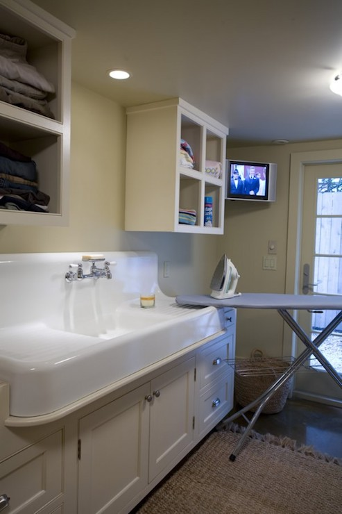 Best Faucet For Laundry Room Sink : Laundry Room Sink - Transitional - laundry room - Bockman and Forbes ...