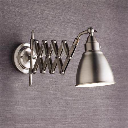 Wall Mounted Accordion Lamps : Accordion Cone Swing Arm Wall Lamp Look 4 Less