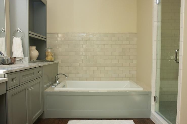 Gray Bath Cabinets Contemporary Bathroom Twin Companies