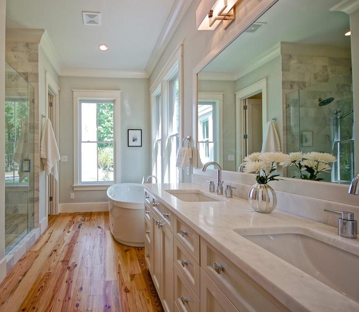 Cambria Quartz Countertops Transitional Bathroom