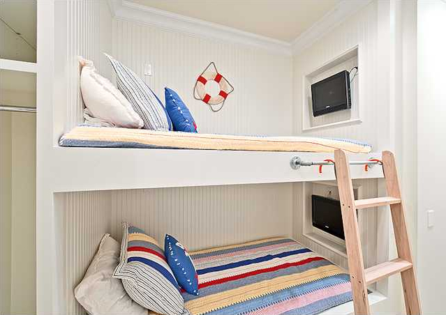 Built In Bunk Beds Cottage Boys Room Rice