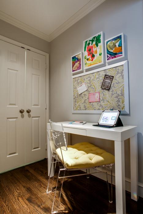 Desk Nook Contemporary Girl S Room Benjamin Moore