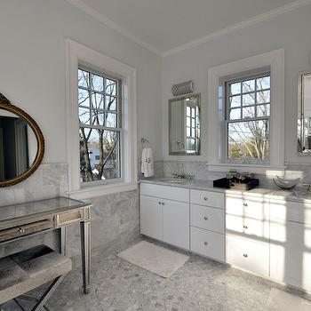 Mirrored Vanity, Transitional, bathroom, Anthony James Builders