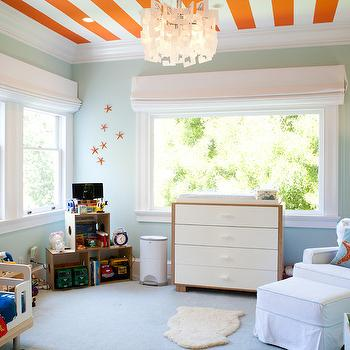 Striped Ceiling, Contemporary, boy's room, Art Haus