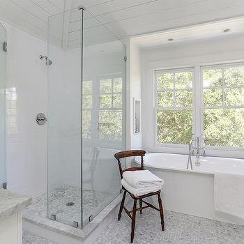 Bathtub Nook, Traditional, bathroom, Amy Trowman Design