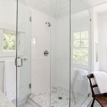 Corner Shower, Traditional, bathroom, Amy Trowman Design