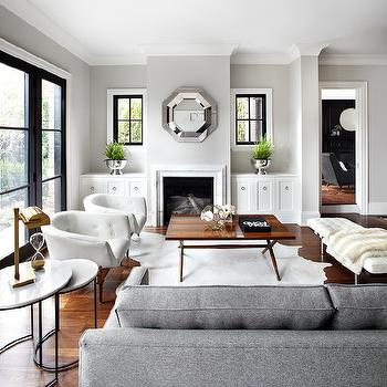 Transitional, Living Room, The Design Company