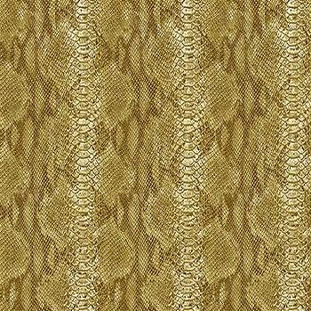 Wallpaper - Animal Skin Wallpaper fVilla D'este Collection Seabrook I Burke Decor - gold faux snakeskin wallpaper, faux snakeskin wallpaper, textured faux snakeskin wallpaper,