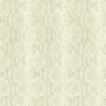 Wallpaper - Animal Skin Effect Wallpaper Villa D'este Collection Seabrook I Burke Decor - ivory faux snakeskin wallpaper, faux snakeskin wallpaper, textured snakeskin wallpaper,