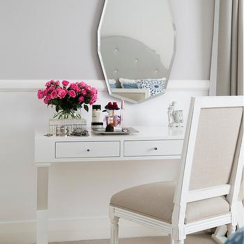Vanity Table, Transitional, bedroom, ICI Dulux Milton Moon, Horton and Company