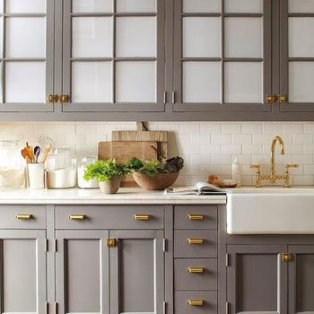 Brass Hardware, Transitional, kitchen, Chupik Properties and Design