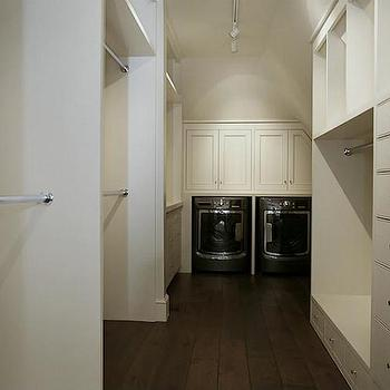HAR - closets: master bedroom closet, master closet, gray washer dryer, gray washer and dryer, washer dryer in master closet, master closet washer dryer, washer and dryer in master closet, master closet washer and dryer,