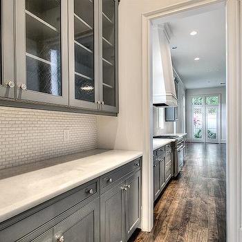 Beveled Mini Subway Tiles, Transitional, kitchen, HAR