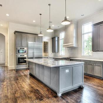 Gray Kitchen, Transitional, kitchen, HAR