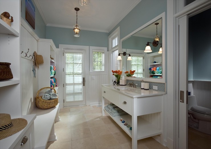 Mudroom Ideas Cottage Laundry Room Burns And Beyerl