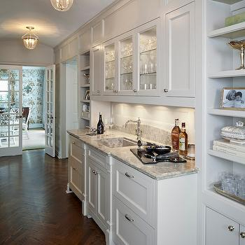 Butler Pantry Ideas, Transitional, kitchen, Burns and Beyerl Architects