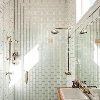 Subway Tile Patterns, Modern, bathroom, Urbis Magazine