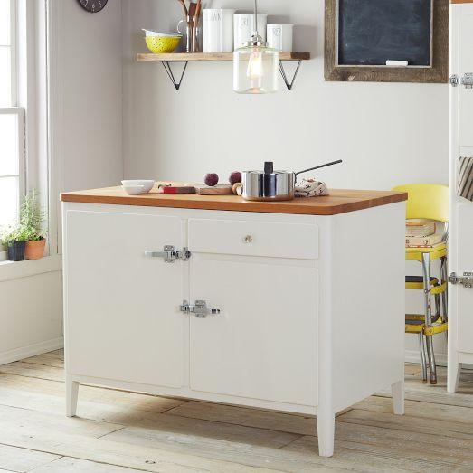 In Kitchen My Boys And Islands: Cabin Kitchen Island - White
