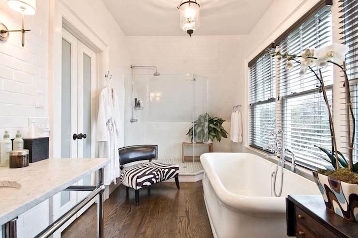 Corner Shower Ideas Transitional Bathroom William A