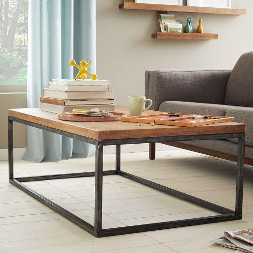 Box Frame Coffee Table - Cafe
