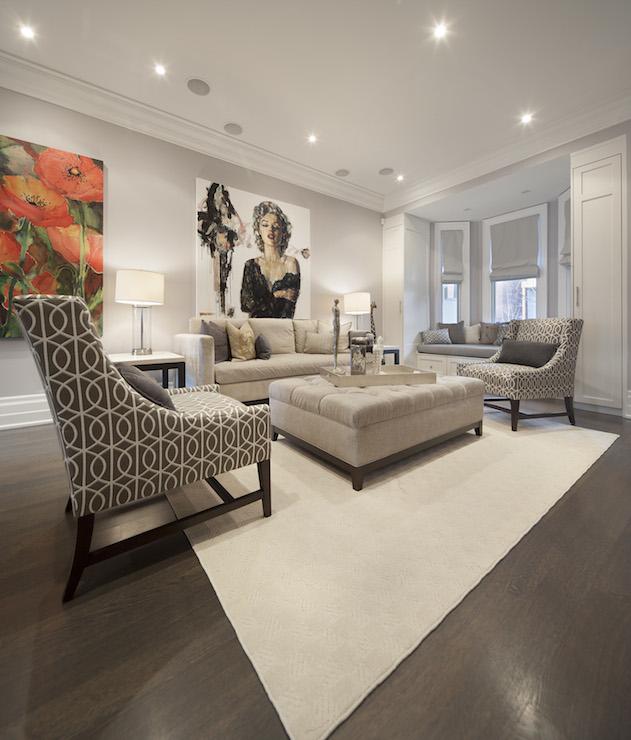 Long Living Room Contemporary Living Room Ruby Photo
