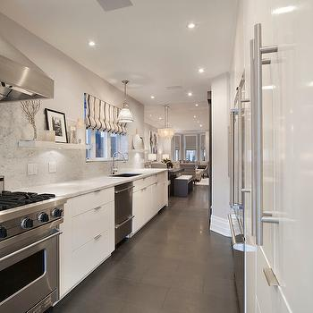 White Lacquer Cabinets, Contemporary, kitchen, Ruby Photo Studio